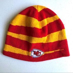 NFL Team Apparel Kansas City Chiefs Youth Beanie